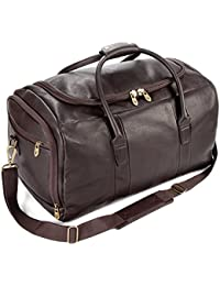 3db908301f Falcon Falcon Colombian Leather Weekend Bag