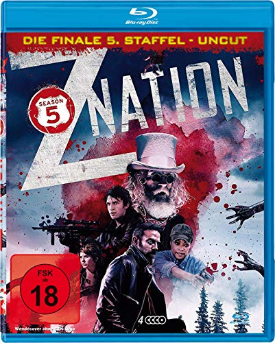 Z Nation - Staffel 5 (UNCUT-Edition) [Blu-ray]