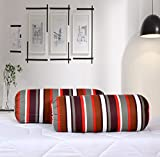 #9: Salona Bichona 100% Cotton Bolster cover set of 2