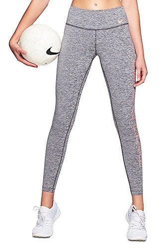 Nike W PWR Tght Poly JDI Grx Fishnet, Woman, Carbon Buckle / Soft Pink, M