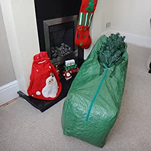 Large xmas christmas tree jumbo storage bag 120 x 33 x 30 Christmas bauble storage