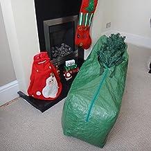 Yuzet Heavy Duty custodia per albero di Natale 120cm con Zip e manici