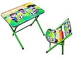 #6: Foldable Cartoon Table Chair Set for Kids Study Desk for Baby Boys & Girls unisex