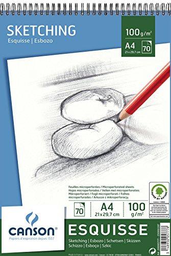 Canson 200005777 70fogli carta da disegno