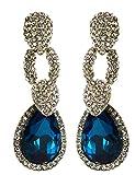 Glitters Light Blue Stone American Diamo...