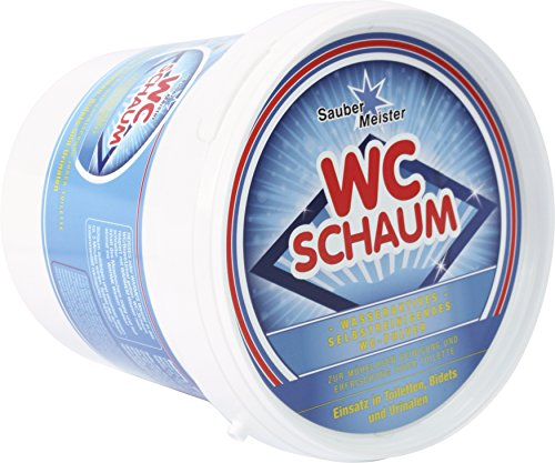 Sauber Meister WC Schaum - Das Original aus der TV-Werbung - Schaum Pulver