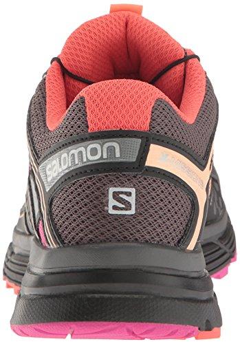 Salomon Donna X-mission 3 W Scarpe da trail running Multicolore (Magnet/Black/Rose Violet)