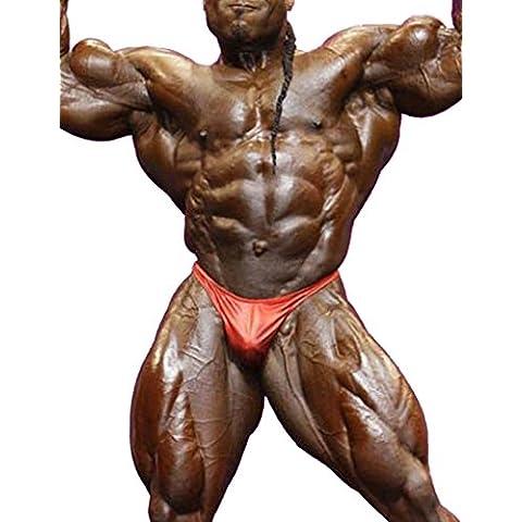 MuscleAlive Uomo Culturismo Concorrenza Palestra Posa Tronco