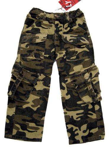 LUCKY STAR Army Tarnhose, camouflage, Jungen, J21