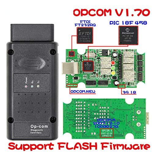 GMTes Opcom OP-Com 2014 V Can OBD2 für Opel Firmware V1.70 mit PIC18F458 Chip