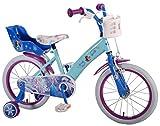 Disney 16 Zoll Mädchenfahrrad Kinderfahrrad Fahrrad Frozen Eiskönigin Bike Rad VOLARE