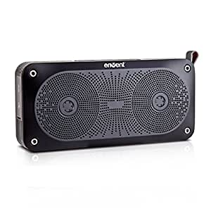 Envent LiveFree 370 ET-BTSP370-BK Wireless Portable Bluetooth Speakers (Black)