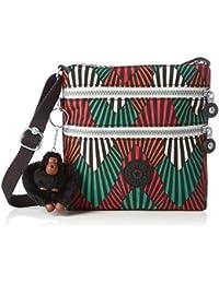 Kipling - Alvar S, Bolsos bandolera Mujer, Multicolour (Tropic Palm Ct), 18.5x18x2 cm (W x H L)