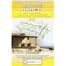 Amazon cartina geografica sicilia sicilia sud orientale carta turistico stradale 1120000 cm 97x67 altavistaventures Images