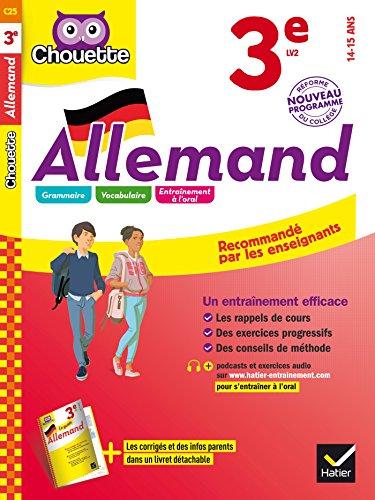 Allemand 3e - LV2 (niveau A2): cahier d'entraînement et de révision par Françoise Munoz