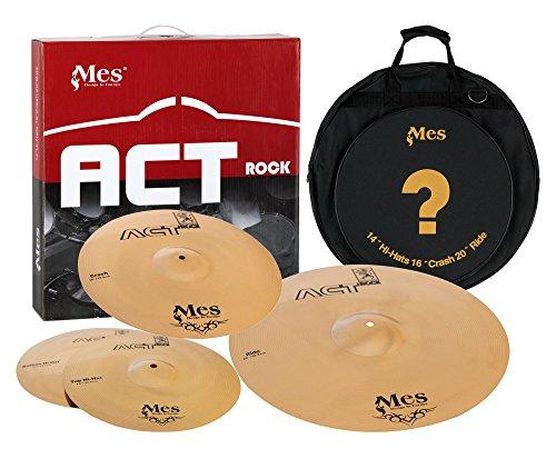 MES ACT141620 Act Series Beckenset (14 Zoll) HH, (16 Zoll) Crash, (20 Zoll) Ride