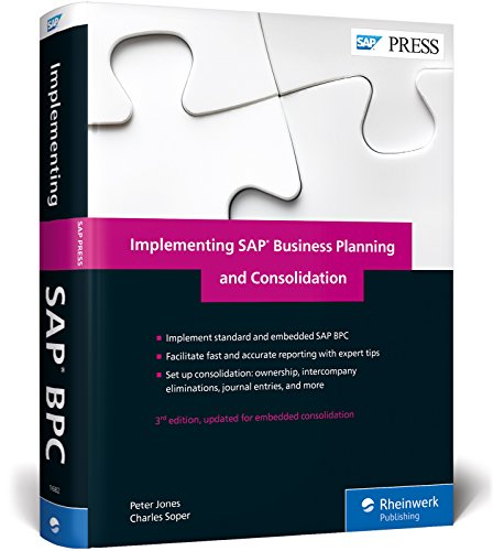 Implementing SAP Business Planning and Consolidation por Peter Jones