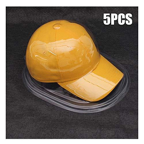 YOCC Huthalter-Display, Staubgeschützter Baseball-Halter-Schutz/Sport-Memoriablia-Vitrine/Kappen-Aufbewahrungsbox Verhindern Sie die Verformung von 5
