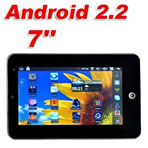 """2011 Version 7"""" Cheapest Apad WM8650 Tablet PC Android 2.2 Froyo Supports Flash 10.1 Camera WiFi ePad MID"""