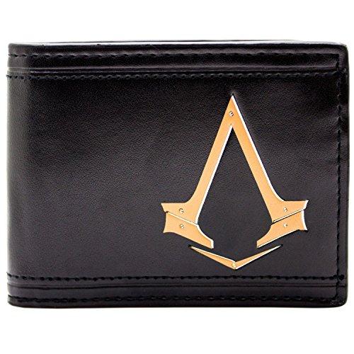 Ubisoft Assassins Creed Syndikat Schwarz Portemonnaie Geldbörse