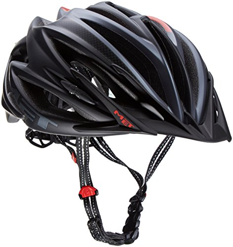 MET Fahrradhelm Veleno Matt, Black, 58-61 cm, 3HELM93L0NN