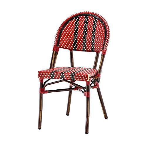 Rotin Design Soldes : -40% Chaise bistrot Nico en polyrotin
