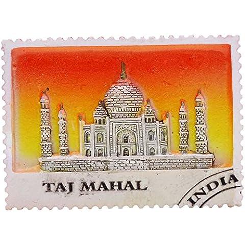 Indian Mármol Poli Taj Mahal Iman Nevera Coleccionables Souvenir