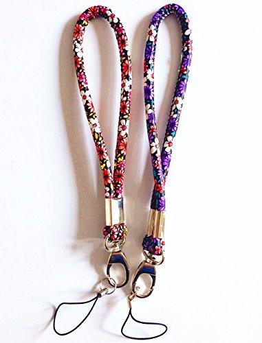 Fashion strapazierfähiges PU Leder Hand Handschlaufe Handgelenk Lanyard für Kamera & Handy & Geldbörse & Keychain-Straps, Ihr Wrist-Assorted Farbe 2Pack, Picture3 (Wrist Strap Lanyard)