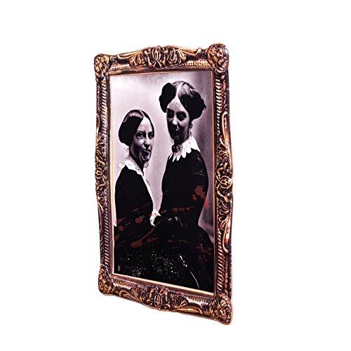 Zoelibat 97170342.008 Effektbild, Dead Sisters Vexierbilder, Deko Halloween, circa 38 x 52 cm