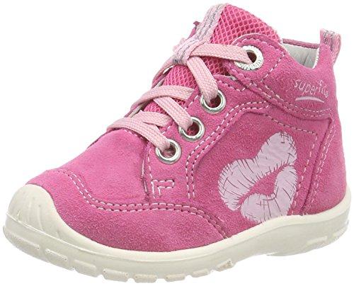 Superfit Baby Mädchen Softtippo Sneaker, Pink (Pink Kombi), 23 EU