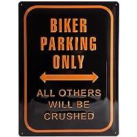 Nostalgic-Art 20381 Best Garage - Biker Parking Only, Blechschild 30x40 cm