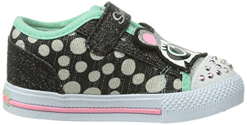 Skechers ShufflesCritter, Baskets fille Noir (Bkmt)