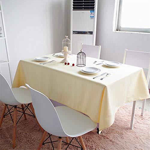 ch Tuch Tischdecke Mode Abendessen Zimmer Tuch Plain Tabelle Abdeckung B 120x120cm ()