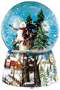 Spieluhrenwelt 46069 schneekugel schneemann for Nanu nana weihnachten