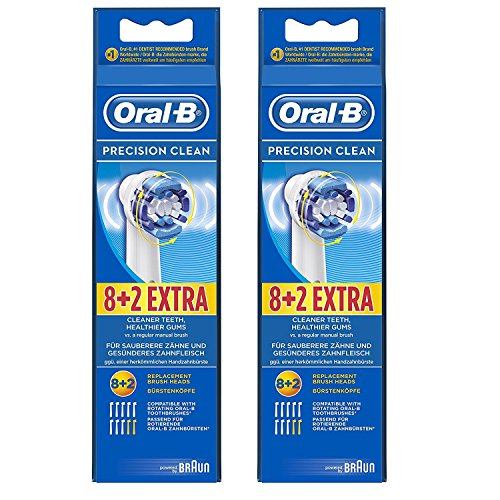 Precision Clean Refills (Oral-B Precision Clean Electric Toothbrush Replacement Head - 20 Refill Brushes)