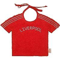 Zigozago – Babero de Liverpool camiseta – Ate: cuerda – un tamaño – color: