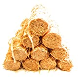 Natural Long Lasting Fire Lighters: FIRE Brand Eco Friendly Fire Starters - Untreated Wood Shavings - 1 Kg Bag