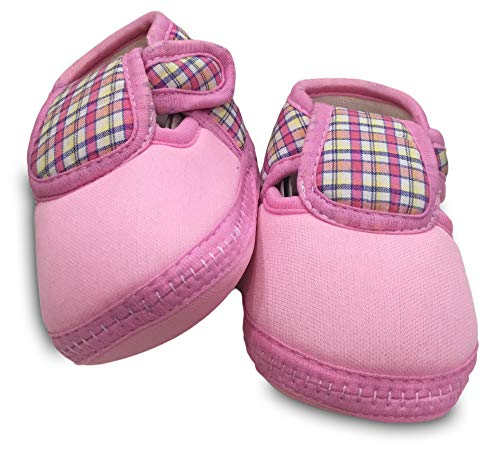 Tavish Baby Boy's and Girl's Canvas Shoes with Anti-Slip Sole (3-12 Months) - Combo of 3