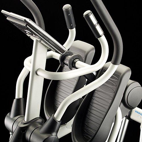 Skandika Crosstrainer CardioCross Carbon Pro SF-3200, 23,5 kg Schwungmasse, wartungsarmes Bremssytem über Magnettechnologie, Transportrollen, Kalorienverbrauch, Zeit und und Pulsmessung - 9