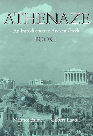 Athenaze: An Introduction to Ancient Greek: Book I by Maurice Balme (1990-02-22)