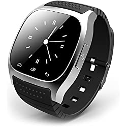 Leopard Shop RWATCH M26s Watch Smart Sports Bluetooth Sleep Management Pedometer Dialing SMS Silver