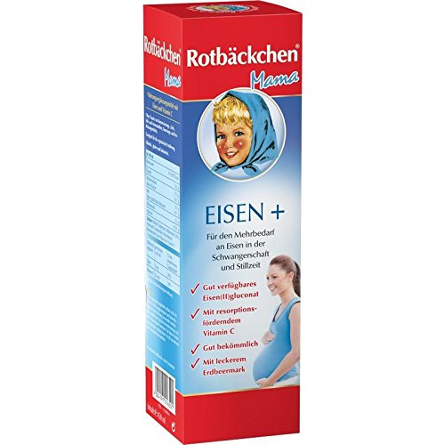 RABENHORST Rotbäckchen Mama Eisen+ Saft 450 ml Saft