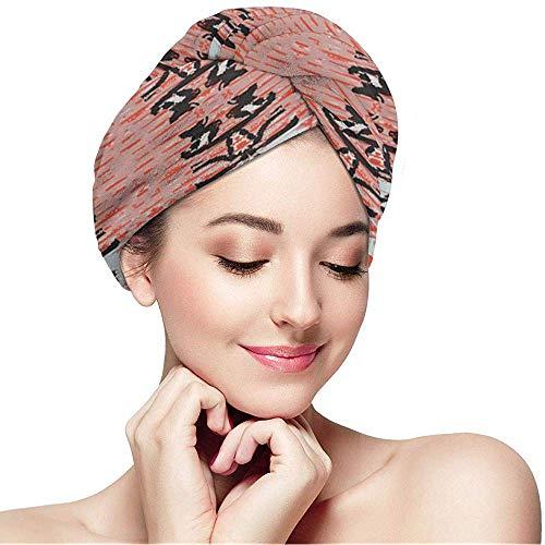 Kcmical Microfaser Dry Hair Cap für Bath Spa Soft Towel, Turbans für nasses Haar - Spider_Mites_on_The_Rose_Bush -