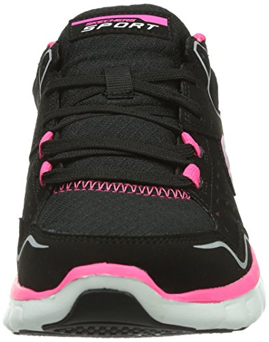 Skechers SynergyA Lister, Baskets mode femme Noir