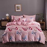 DEALS FOR LESS- Bedsheet, Duvet Cover Bedding Set, Butterfly Design