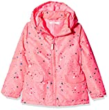 NAME IT Mädchen Jacke NMFMELLO Jacket Confetti, Mehrfarbig Neon Salmon Rose, 116
