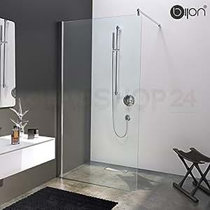 Hochwertige Design Duschwand mit Nanoeffekt | 100 x 200 cm | M1 bijon®