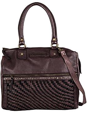Taschendieb Wien Shopper Tasche Leder 35 cm