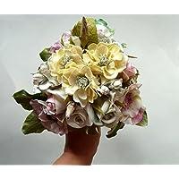 Blumen Brautblumenstrauß Cold Porcelain -Hand gemacht