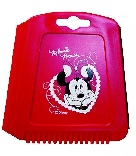 Minnie Mouse\' Trapez Eiskratzer für das Auto, Eisschaber mit Eisbrecher-Zähnen und Wasserabstreiflippe